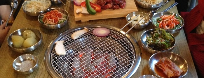 678 Korean BBQ is one of Posti salvati di Vanessa.