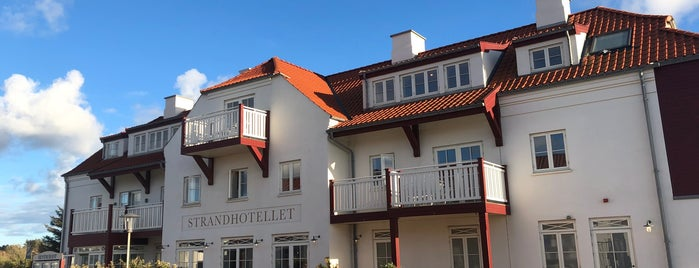Strandhotellet Blokhus is one of Locais curtidos por Antti T..