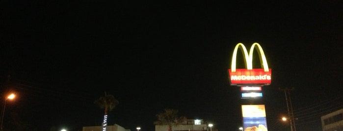 McDonald's is one of Orte, die Hadi gefallen.