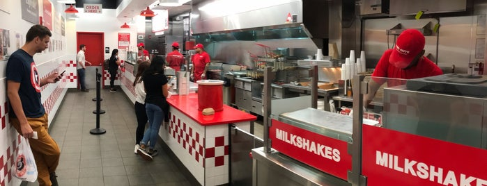 Five Guys is one of 🍯🌙 NYC.
