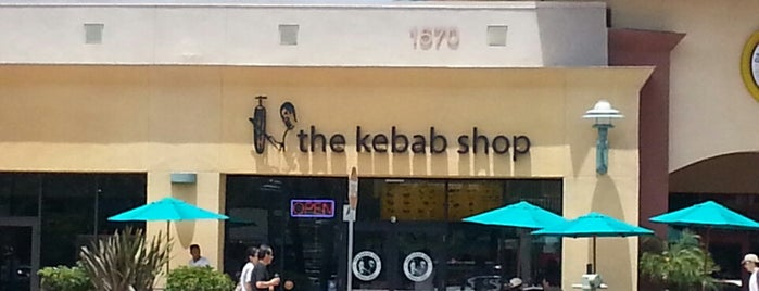 The Kebab Shop is one of San Diego.