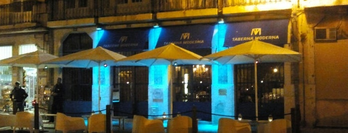 Taberna Moderna is one of Lounge-sunset.
