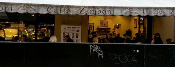 Caffè Zamboni is one of Bologna.