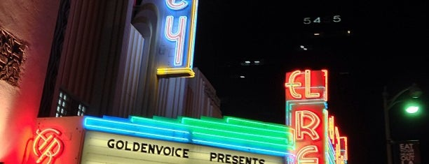 El Rey Theatre is one of #LA!.