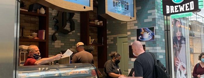 Brewed is one of Lugares favoritos de Gary.