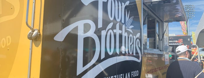 Four Brothers Venezuelan Food is one of Austin.
