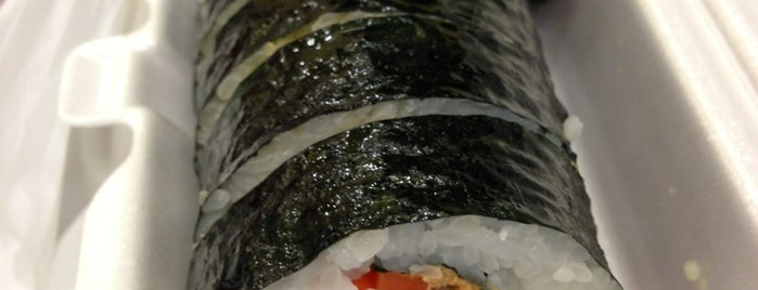 E-Mo Kimbap is one of Lieux qui ont plu à Erik.