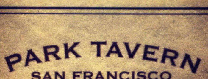 Park Tavern is one of San Francisco.