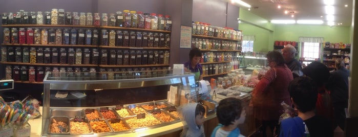 Sweets & Treats is one of Bridget's Liked Places.