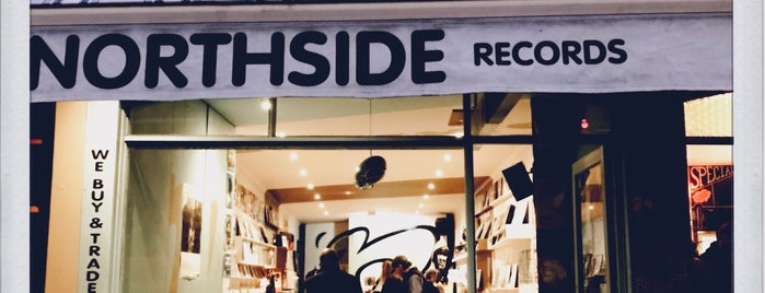 Northside Records is one of Vinyl Shops.