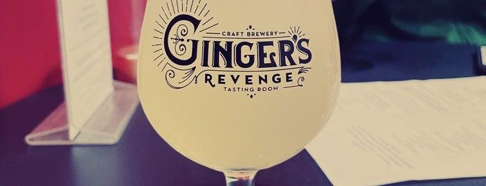 Ginger's Revenge is one of Asheville.