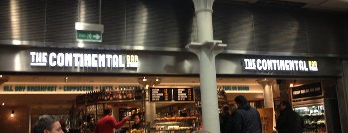 The Continental Bar is one of Orte, die ste gefallen.