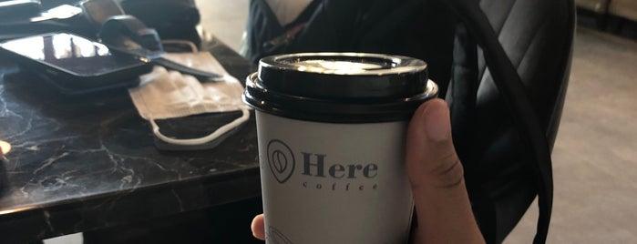Here Coffee is one of Gespeicherte Orte von Queen.