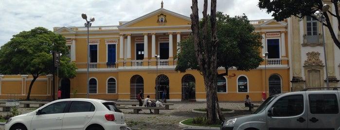 Praça Dom Adauto is one of Tempat yang Disukai Jeoás.