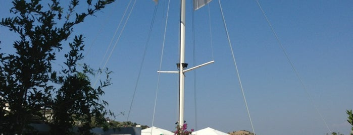 Ship AHoy Beach is one of Hot Spots @Bodrum.