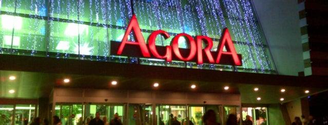 Agora is one of İzmir.
