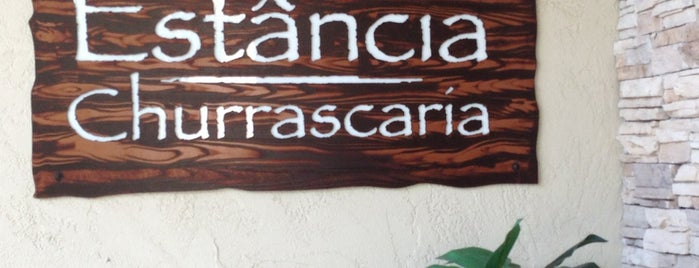 Estancia Churrascaria Brazilian Steakhouse is one of สถานที่ที่ Josh ถูกใจ.
