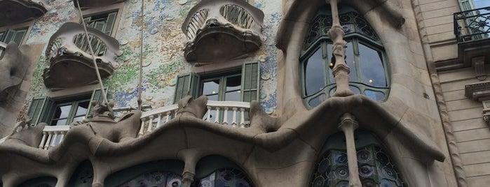 Casa Batlló is one of Barcelona, Espanha.