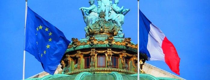 Opéra Garnier is one of Hernan'ın Beğendiği Mekanlar.