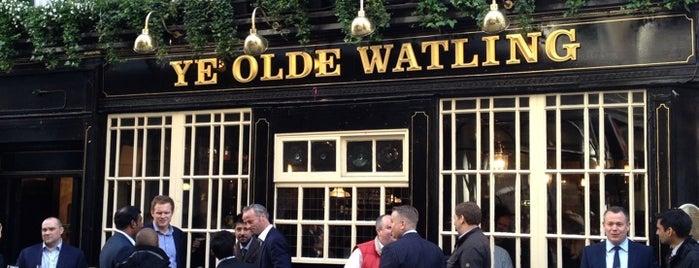 Ye Olde Watling is one of Good Beer Pubs.