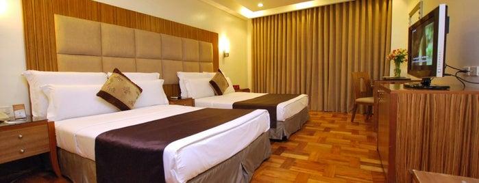 Lotus Garden Hotel Manila is one of Lieux qui ont plu à Antonette.
