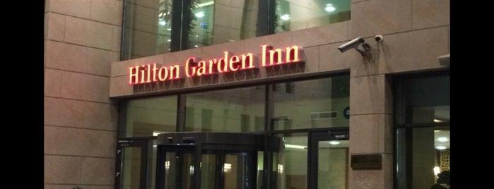 Hilton Garden Inn is one of Tempat yang Disukai H🅰K🅰N.