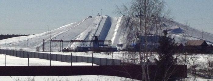 Горнолыжный спортивный комплекс «Ново-Переделкино» is one of Склоны.