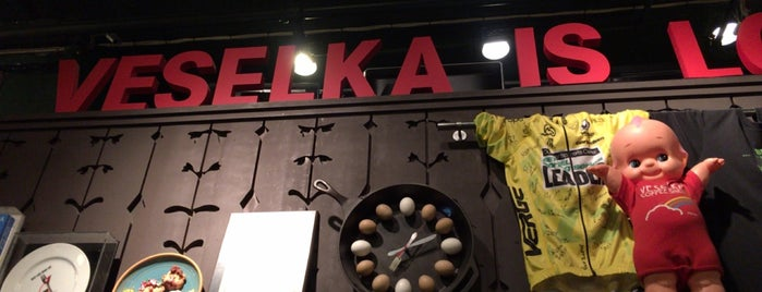 Veselka is one of The Medinas -  Our New York City.