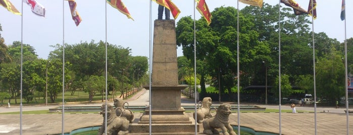 Independence Square is one of sri lanka.
