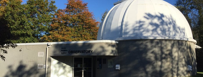 Vancouver Observatory is one of A Guide to Vancouver (& suburbia).