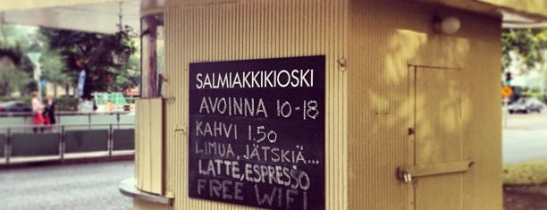 Salmiakkikioski is one of Helsinki.