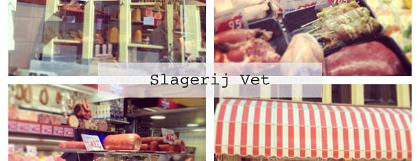 Slagerij Vet is one of Back to Netherlands ♥.