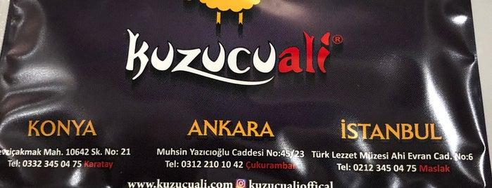 Kuzucu Ali Tandır Kebap Etliekmek is one of Locais curtidos por Bora.