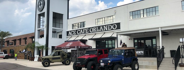 Ace Cafe Orlando is one of Orte, die Annette gefallen.