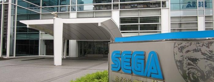 株式会社 セガ 本社 (3号館) is one of Videogames HQ.
