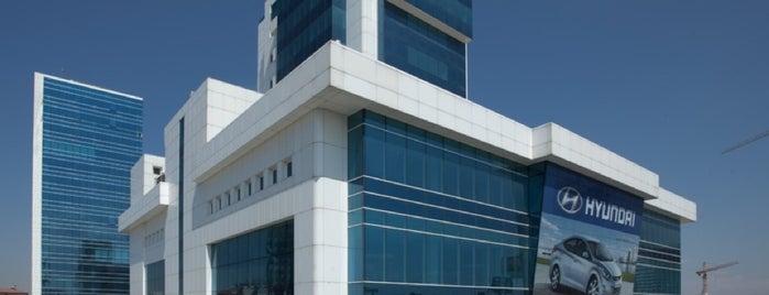 Ata Hyundai Plaza is one of Fırat'ın Beğendiği Mekanlar.