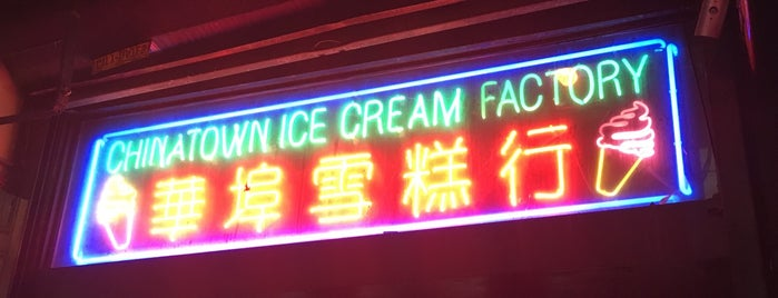 The Original Chinatown Ice Cream Factory is one of Renさんのお気に入りスポット.