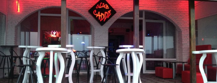 Club Cadde is one of Halil'in Beğendiği Mekanlar.