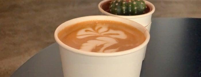 Qirat - Specialty Coffee is one of Coffee shops | Riyadh ☕️🖤.