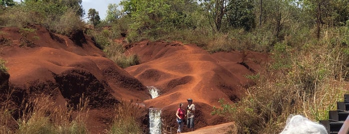 Red Dirt Falls is one of Lugares favoritos de Jingyuan.