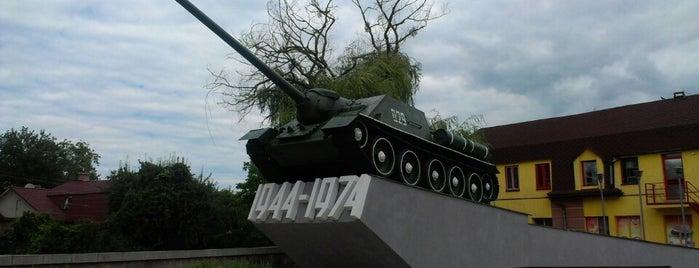 Танк СУ-100 is one of Andriy : понравившиеся места.