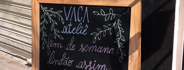 Vaca Ateliê Culinário is one of 🐮🐷🐔❤️.