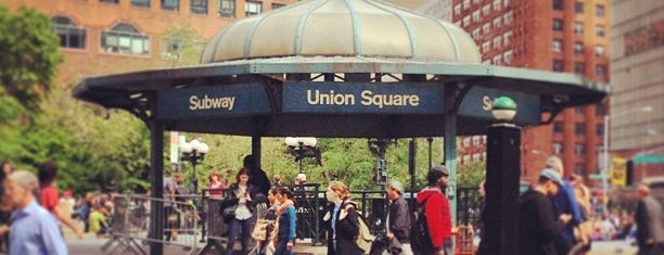 Union Square Park is one of Places.