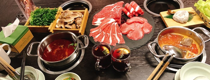 Qimin Organic Hot Pot Marketplace is one of China.