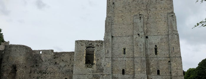 Portchester Castle is one of Posti salvati di Dewald.