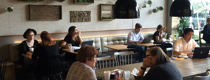 Pavement Coffeehouse is one of 15 Top Coffee Shops in Boston.