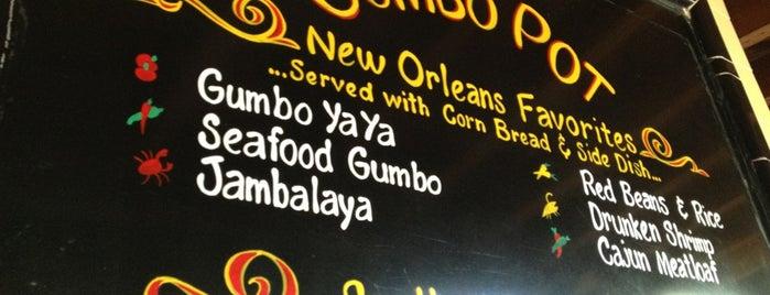 The Gumbo Pot is one of LA.
