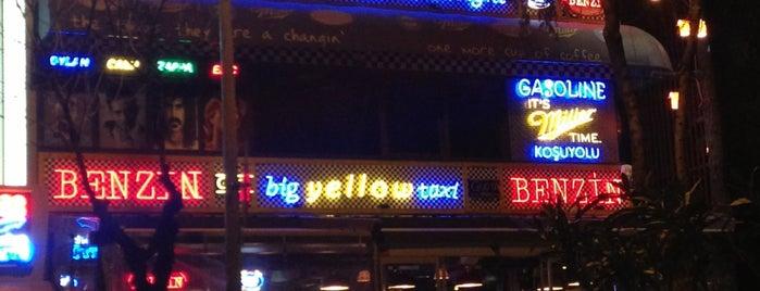 Big Yellow Taxi Benzin is one of bizim mekanlar..