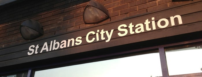 St Albans City Railway Station (SAC) is one of Locais curtidos por Carl.