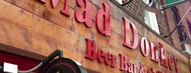 Mad Donkey Beer Bar & Grill is one of Astoria/Queens Bucket List.
